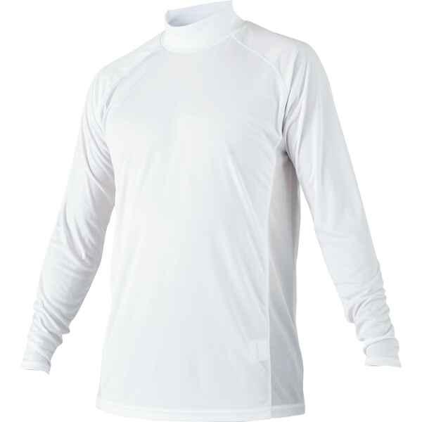 ハイネック長袖ハイブリッドアンダーシャツ [カラー:ホワイト] [サイズ:M] #BO8720-1100