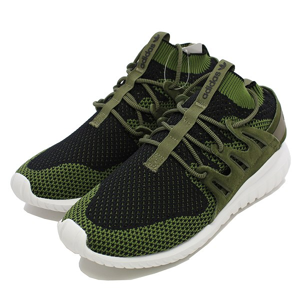 【アディダス】 アディダス チュブラ― ノバ プライムニット [サイズ:27cm(US9)] [カラー:オリーブカーゴ/コアブラック/ビンテージホワイト] #S80111 【靴:メンズ靴:スニーカー】【S80111】【ADIDAS ADIDAS TUBULAR NOVA PK OLIVE CARGO/CORE BLACKAGE WHITE】