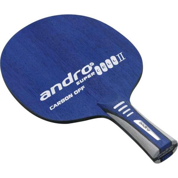 【アンドロ】 スーパーセルカーボン2 オフ FL(フレア) 卓球ラケット #10235102 【スポーツ・アウトドア:その他雑貨】【ANDRO】