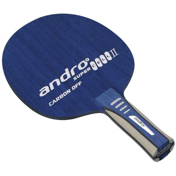 【アンドロ】 スーパーセルカーボン2 オフ AN(アナトミカル) 卓球ラケット #10235103 【スポーツ・アウトドア:その他雑貨】【ANDRO】
