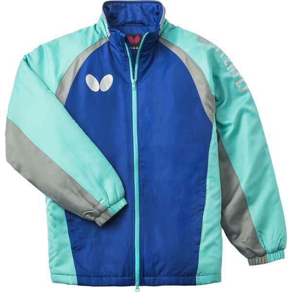 【バタフライ】 ファンプリ・ウォームジャケット [カラー:ブルー] [サイズ:XO] #45050-177 【スポーツ・アウトドア:スポーツウェア・アクセサリー:ウインドブレーカー:メンズウインドブレーカー:アウター】【BUTTERFLY】