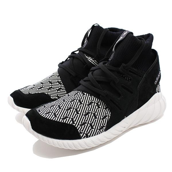 【アディダス】 アディダス チュブラードゥーム [サイズ:28.5cm (US10.5)] [カラー:コアブラック×コアブラック×ビンテージホワイト] #S80096 【靴:メンズ靴:スニーカー】【S80096】【ADIDAS adidas TUBULAR DOOM CORE BLACK/CORE BLACK/VINTAGE WHITE】