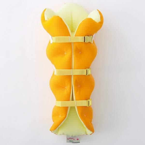 【ムッシュ】 足枕 サクラ咲くまくら(両足用) [カラー:オレンジ] [サイズ:フリー] #SS90020-OR 【スポーツ・アウトドア:スポーツウェア・アクセサリー:スポーツケア用品:サポーター】【MUSSHU】
