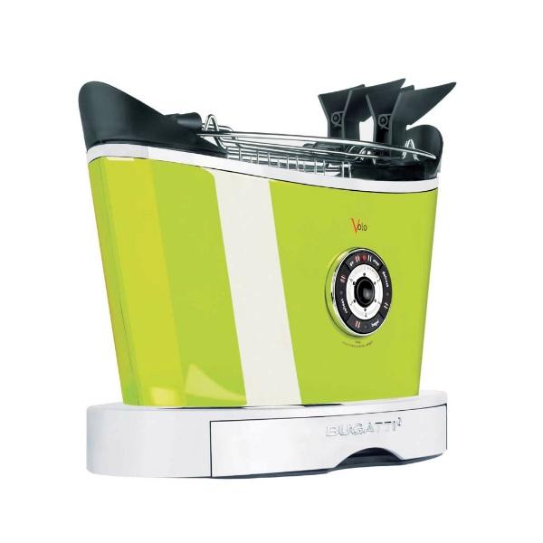 【ブガッティ】 ブガッティ ボロ トースタ― 13-VOLOCM-JP アップルグリーン 【キッチン用品:キッチン家電:電子レンジ・オーブン・トースター:トースター】【BUGATTI】