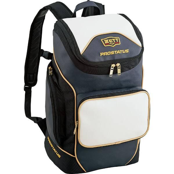 【ゼット】 プロステイタス デイパック [カラー:ホワイト×Dネイビー] [容量:40L] #BAP417-1130 【スポーツ・アウトドア:野球・ソフトボール:ウェア】【ZETT】
