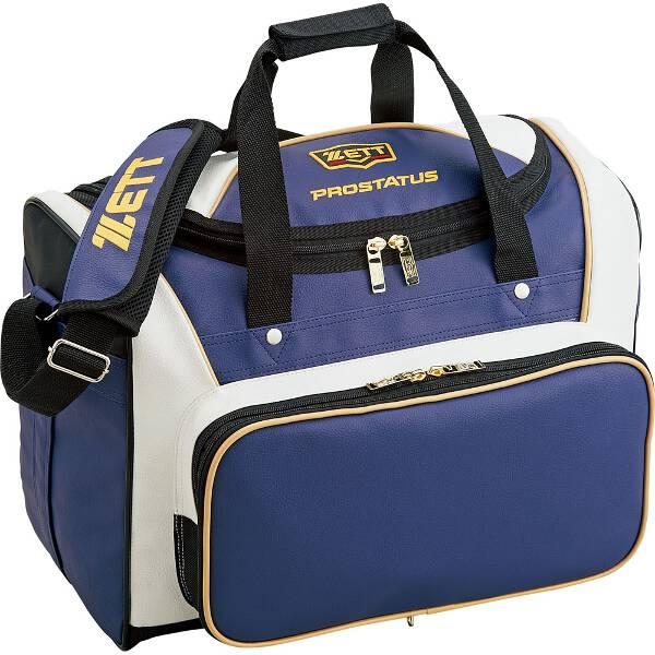 【ゼット】 プロステイタス セカンドバッグ [サイズ:47×34×24cm(42L)] [カラー:ブロンズブルー×ホワイト] #BAP517-2011 【スポーツ・アウトドア:野球・ソフトボール:ウェア】【ZETT】