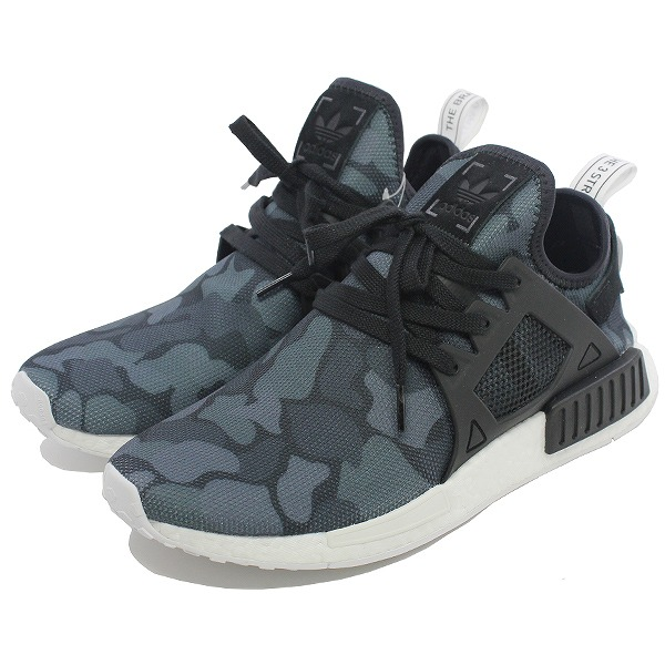 【1500円以上購入で300円クーポン(要獲得) 4/10 9:59まで】 【送料無料】 アディダス エヌ エムディー XR1 [サイズ:28cm(US10)] [カラー:ブラックカモ] #BA7231 【アディダス: 靴 メンズ靴 スニーカー】【ADIDAS adidas NMD_XR1】【在処P】