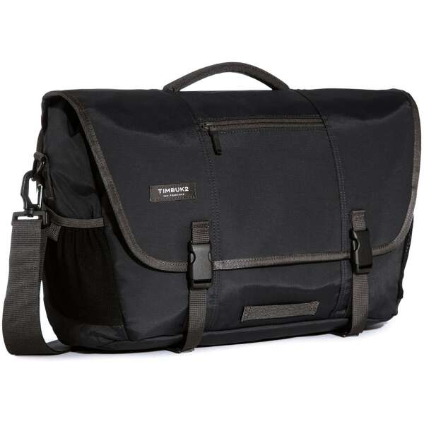 【ティンバック2】 コミュートメッセンジャーバッグ M [カラー:ジェットブラック] [容量:23L] #20846114 【スポーツ・アウトドア:スポーツ・アウトドア雑貨】【TIMBUK2 Commute Laptop TSA-Friendly Messenger Bag M】