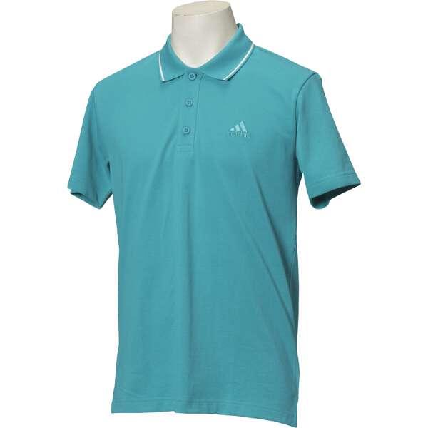 【アディダス】 ESSENTIALS ストライプ ポロシャツ [サイズ:S] [カラー:ラブグリーン] #DJP79-BR1015 【スポーツ・アウトドア:その他雑貨】【ADIDAS】:ビューティーファクトリー:ベルモ