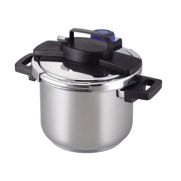 【パール金属】 3構造 ワンタッチレバ― 圧力鍋 【キッチン用品:調理用具・器具:圧力鍋】【PEARL METAL】
