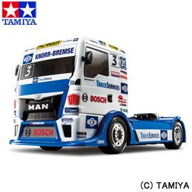 【タミヤ】 1/14 電動RCカ― No.632 TEAM HAHN RACING MAN TGS (TT-01シャーシ TYPE-E) 【玩具:ラジコン:オンロードカー:組み立てキット】【1/10RC ツーリングカー】【TAMIYA 1/14 TEAM HAHN RACING MAN TGS (TT-01 TYPE-E CHASSIS)】