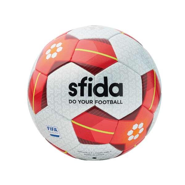 【スフィーダ】 VAIS PRO サッカーボール 5号球 国際公認球 [カラー:ホワイト×レッド] #BSF-VA01-168 【スポーツ・アウトドア:スポーツ・アウトドア雑貨】【SFIDA】