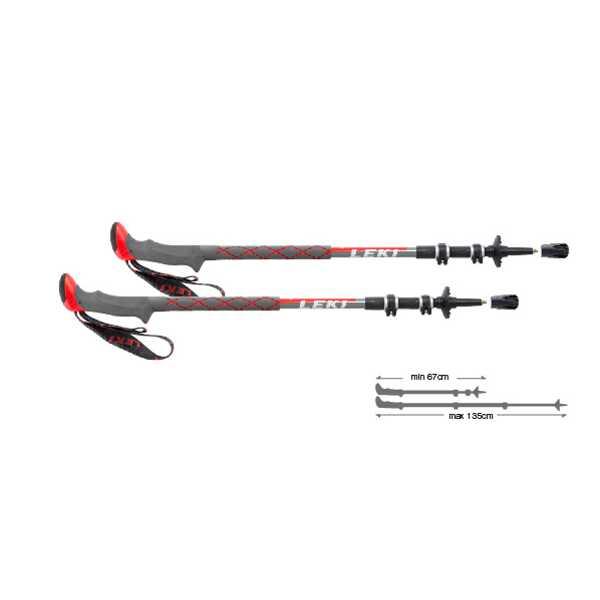 【レキ】 LEKI SPD2サーモライト XL [カラー:レッド] [サイズ:67~135cm] #1300347-220 【スポーツ・アウトドア:登山・トレッキング:トレッキングポール】【LEKI】