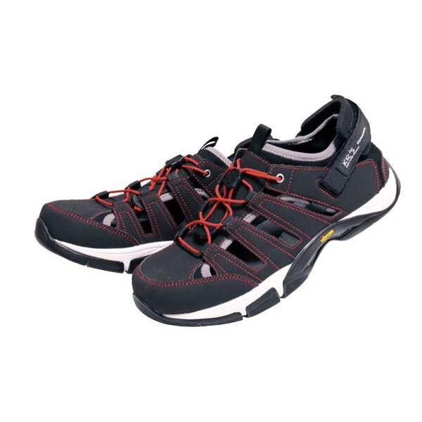 【渓流】 KRS サンダル [カラー:ブラック] [サイズ:25cm] #0035026-190 【スポーツ・アウトドア:登山・トレッキング:靴・ブーツ】【KEIRYUU】