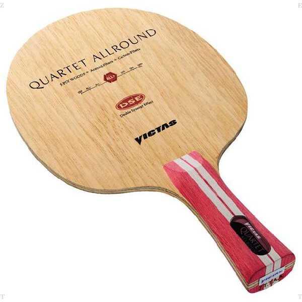 【ビクタス】 カルテット オールラウンド ST(ストレート) 卓球 シェイクラケット #026094 【スポーツ・アウトドア:その他雑貨】【VICTAS QUARTET ALLROUND FL】