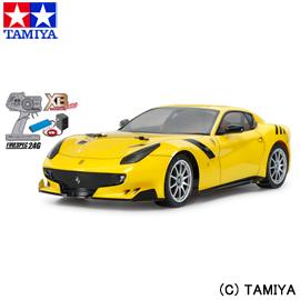 【タミヤ】 1/10 XB (エキスパート ビルト) No.202 フェラーリ F12tdf(TT-02シャーシ) 【玩具:ラジコン:オンロードカー:完成品】【1/10 XB (エキスパート ビルト)】【TAMIYA 1/10RC XB F12tdf (TT-02 CHASSIS)】