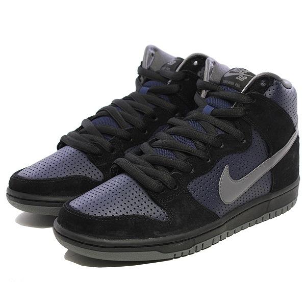 【ナイキ】 ナイキ SB ダンク ハイ TRD QS [サイズ:26cm(US8)] [カラー:ブラック×ライトグラファイト×オブシディアン] #881758-001 【靴:メンズ靴:スニーカー】【881758-001】【NIKE NIKE SB DUNK HIGH TRD QS BLACK/LT GRAPHITE-OBSIDIAN】