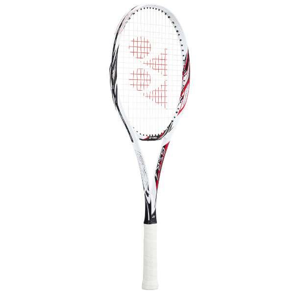 【ヨネックス】 ソフトテニスラケット ジーエスアール7(ガットなし) [サイズ:UXL0] [カラー:ホワイト×レッド] #GSR7-114 【スポーツ・アウトドア:テニス:ラケット】【YONEX GSR 7】