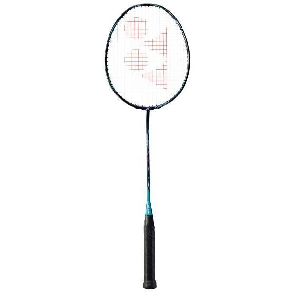 【ヨネックス】 バドミントンラケット ナノレイグランツ(ガットなし) [サイズ:4U5] [カラー:ネイビー×ターコイズ] #NRGZ-390 【スポーツ・アウトドア:バドミントン:ラケット】【YONEX NANORAY GlanZ】