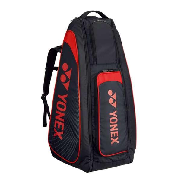【ヨネックス】 スタンドバッグ(リュック付) テニスラケット2本用 [カラー:ブラック×レッド] #BAG1819-187 【スポーツ・アウトドア:テニス:ラケットバッグ】【YONEX】