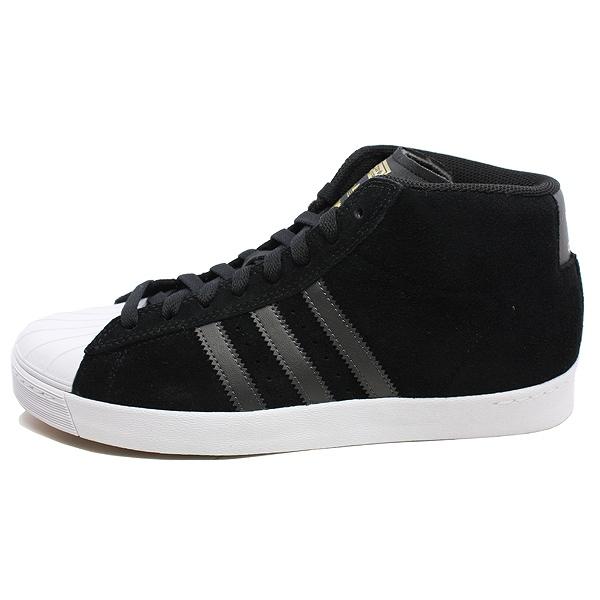 【アディダス】 アディダス スケートボーディング プロモデル バルカ [サイズ:27.5cm(US9.5)] [カラー:ブラック×ブラック×ゴールド] #BY4096 【靴:メンズ靴:スニーカー】【BY4096】【ADIDAS adidas PRO MODEL VULC CBLACK/UTBLK/GOLDMT】
