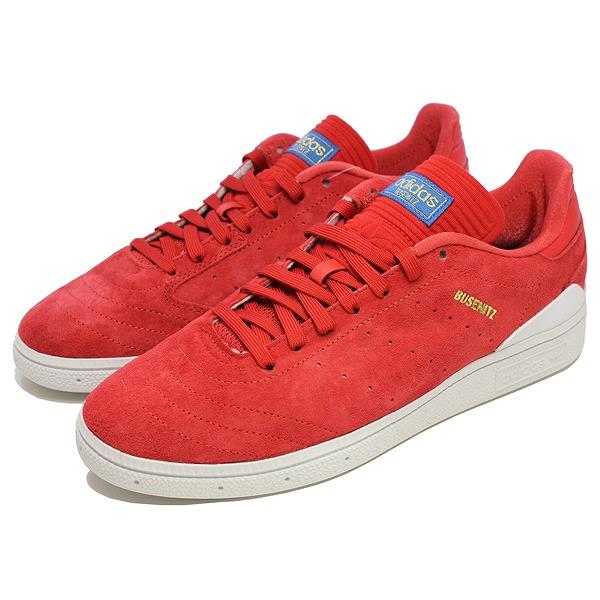 【アディダス】 アディダス スケートボーディング ブセニッツ RX [サイズ:27cm(US9)] [カラー:スカーレット×ホワイト×ブルー] #BY4097 【靴:メンズ靴:スニーカー】【BY4097】【ADIDAS ADIDAS BUSENITZ RX SCARLE/FTWWHT/BLUBIR】