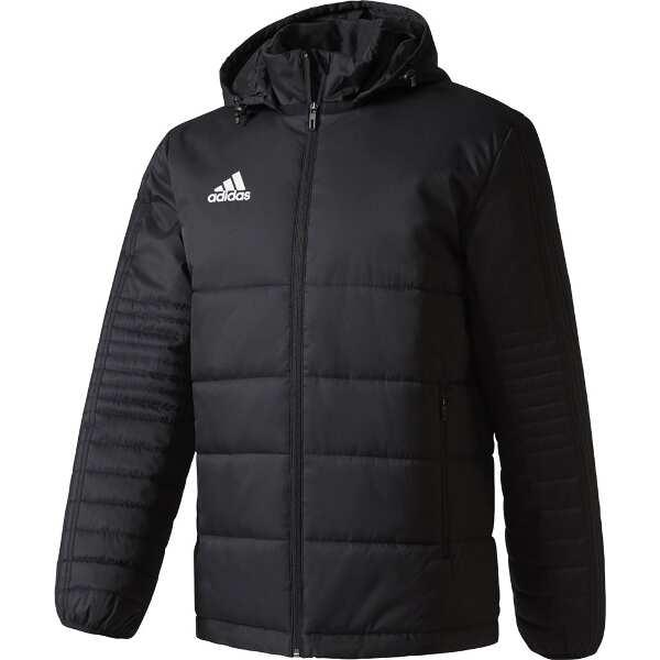【アディダス】 TIRO17 パデットジャケット(腰丈) [サイズ:S] [カラー:ブラック×ホワイト] #DKS81-BS0042 【スポーツ・アウトドア:サッカー・フットサル:メンズウェア】【ADIDAS】