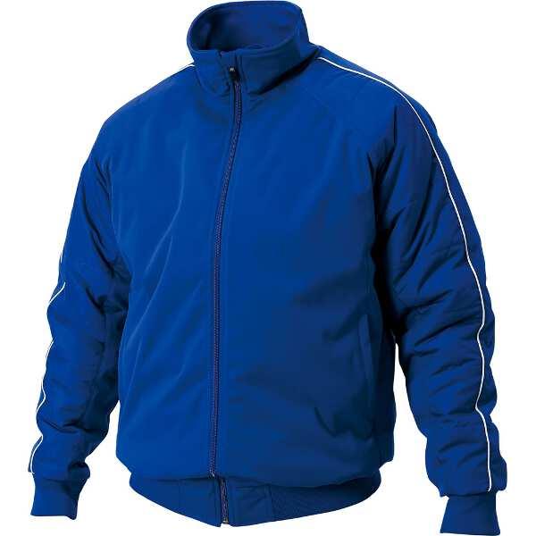 【ゼット】 グラウンドコート(中綿キルティング) [サイズ:M] [カラー:ロイヤルブルー] #BOG480-2500 【スポーツ・アウトドア:スポーツ・アウトドア雑貨】【ZETT】