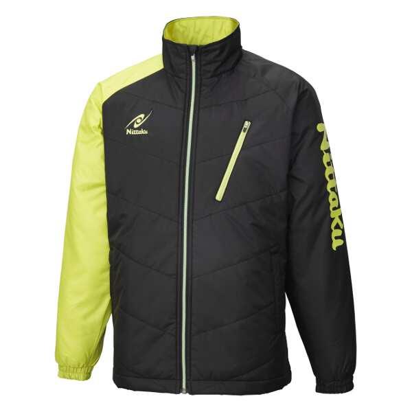 【ニッタク】 ホットウォーマーANVシャツ [サイズ:XO] [カラー:グリーン] #NW-2850-40 【スポーツ・アウトドア:卓球:ウェア:メンズウェア:シャツ】【NITTAKU】