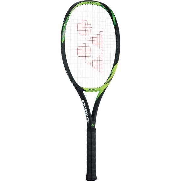 硬式テニスラケット Eゾーン100(ガットなし) [サイズ:G1] [カラー:ライムグリーン] #17EZ100-008