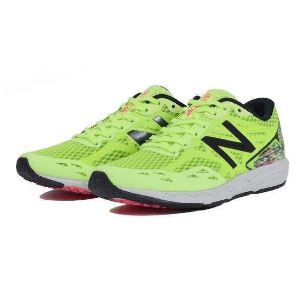 【ニューバランス】 NB HANZO T W H1 レディース ランニングシューズ [サイズ:24.0cm(D)] [カラー:ハイライト×ブラック] #WHANZTH1 【スポーツ・アウトドア:ジョギング・マラソン:シューズ:レディースシューズ】【NEW BALANCE】