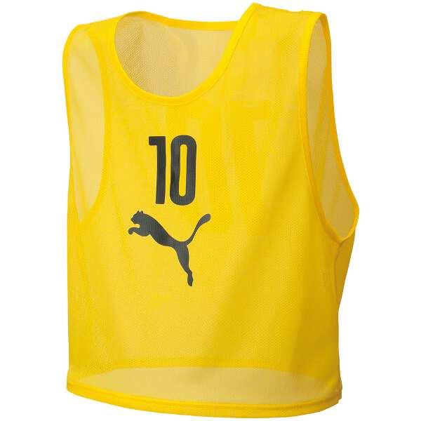 【プーマ】 ビブスセット(10枚組) [サイズ:XXS] [カラー:サイバーイエロー] #920604-04 【スポーツ・アウトドア:スポーツウェア・アクセサリー:ビブス・ゼッケン】【PUMA】