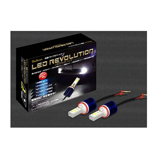 【フジ電気工業】 Bullcon LEDフォグバルブ H8/H11 3000K #SLL‐F11Y 【カー用品:ライトランプ:ヘッドライト:LED】【FUJI‐DENKI】