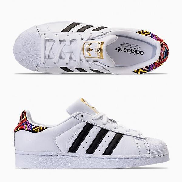 【アディダス】 アディダス スーパースタ― W (ウィメンズモデル) [サイズ:25.5cm(US8.5)] [カラー:ホワイト×ブラック×ゴールド] #AC8576 【靴:メンズ靴:スニーカー】【AC8576】【ADIDAS adidas SUPERSTAR W FTWWHT/CBLACK/GOLDMT】