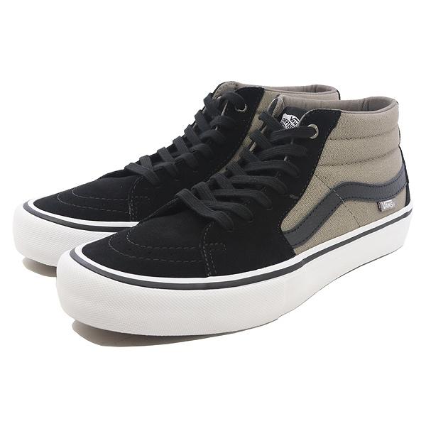 【バンズ】 バンズ スケートミッド プロ [サイズ:28cm(US10)] [カラー:ブラック×フォールンロック] #VN0A347UQ2Q 【靴:メンズ靴:スニーカー】【VN0A347UQ2Q】【VANS VANS SK8-MID PRO BLACK/FALLEN ROCK】