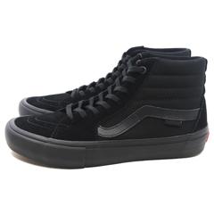 【5%off+最大3750円offクーポン(要獲得) 8/21 9:59まで】 【送料無料】 バンズ スケートハイ プロ [サイズ:26cm(US8)] [カラー:ブラックアウト] #VN000VHG1OJ 【バンズ: 靴 メンズ靴 スニーカー】【VANS VANS SK8-HI PRO BLACKOUT】
