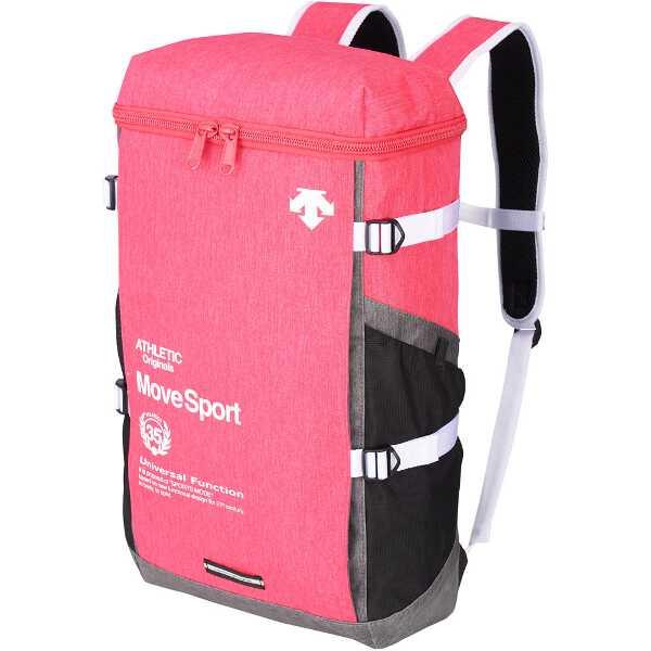 Move Sport スクエアバックパック(杢) [カラー:ピンク杢] [サイズ:W30×H50×D16cm(30L)] #DMALJA07-PNKM