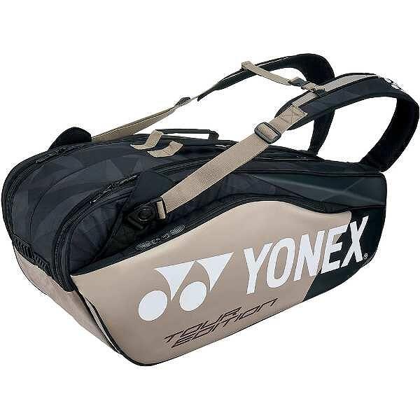 【ヨネックス】 ラケットバッグ6(リュック付) テニスラケット6本用 [カラー:プラチナ] #BAG1802R-695 【スポーツ・アウトドア:テニス:ラケットバッグ】【YONEX】
