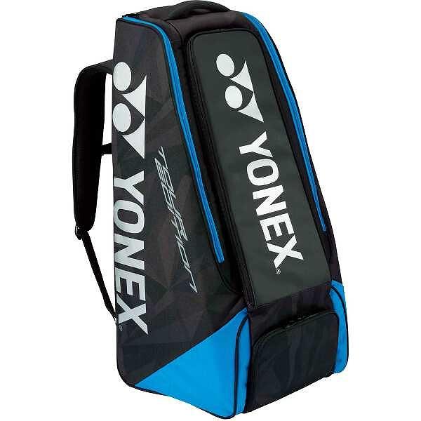 【ヨネックス】 スタンドバッグ テニスラケット2本用 [カラー:ブラック×ブルー] #BAG1809-188 【スポーツ・アウトドア:テニス:ラケットバッグ】【YONEX】