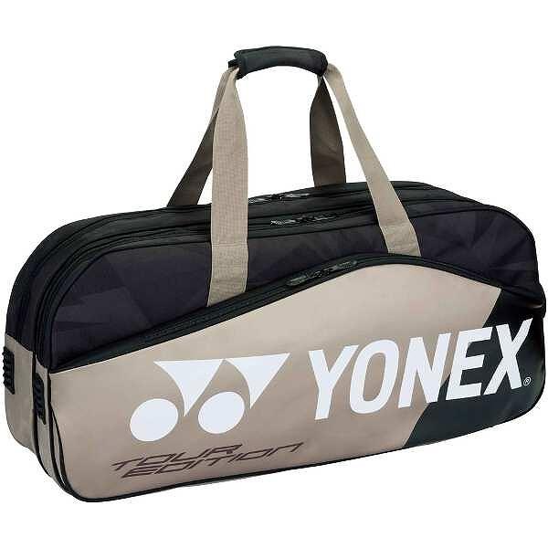 【ヨネックス】 トーナメントバッグ(テニスラケット2本収納可) [カラー:プラチナ] [サイズ:75×18×33cm] #BAG1801W-695 【スポーツ・アウトドア:テニス:ラケットバッグ】【YONEX】