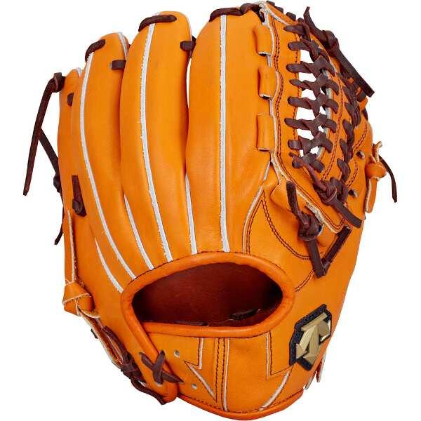 【デサント】 硬式野球グラブ ショート・セカンド用(右投げ用) [カラー:オレンジ] #DBBLJG46-ORG 【スポーツ・アウトドア:野球・ソフトボール:グローブ・ミット】【DESCENTE】
