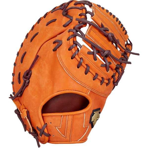 【デサント】 軟式ファーストミット 一塁手用(右投げ用) [カラー:オレンジ] #DBBLJG53-ORG 【スポーツ・アウトドア:野球・ソフトボール:グローブ・ミット】【DESCENTE】