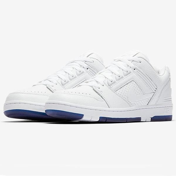 【ナイキ】 ナイキSB エア フォース 2 LOW [KEVIN BRADLEY] [サイズ:28.5cm(US10.5)] [カラー:ホワイト×ブルー] #AO0298-114 【靴:メンズ靴:スニーカー】【AO0298-114】【NIKE NIKE SB AIR FORCE 2 LOW QS WHITE/WHITE-BLUE VOID】