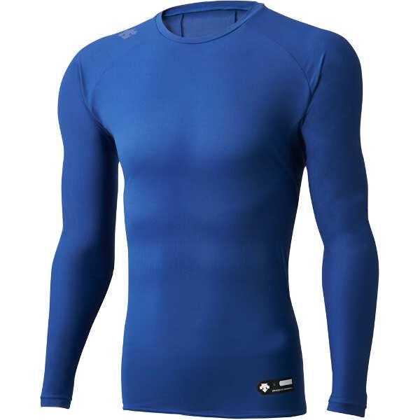 Cネック長袖アンダーシャツ [サイズ:L] [カラー:ロイヤルブルー] #DBMLJB00-ROY