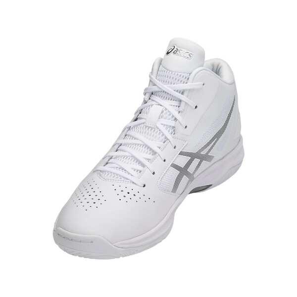 ゲルフープ V10 バスケットボールシューズ [サイズ:24.5cm] [カラー:ホワイト×シルバー] #TBF339-0193