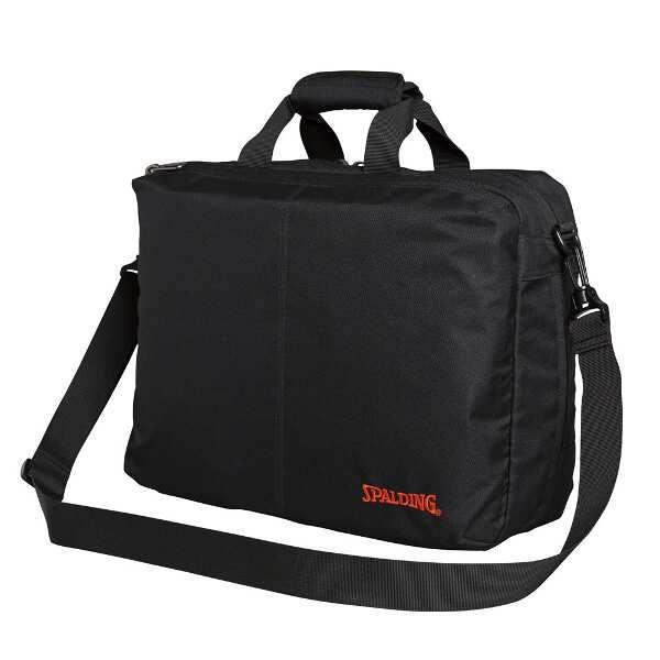 【スポルディング】 3WAY ブリーフバッグ(拡張機能付き) [カラー:ブラック] [サイズ:40×31×13cm] #40-019BK2 【スポーツ・アウトドア:スポーツ・アウトドア雑貨】【SPALDING】