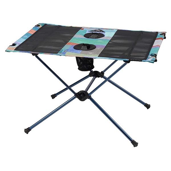 【バートン】 BURTON×HELINOX テーブルワン [カラー:Block Quilt] [サイズ:60×60×40cm] #16705101446 【スポーツ・アウトドア:アウトドア:イス・テーブル・レジャーシート:テーブル】【BURTON】