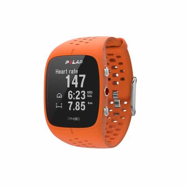 【最大1500円offクーポン(要獲得) 4/9 20:00~4/16 1:59】 【送料無料】 M430 国内正規品 心拍計内蔵GPSランニングウォッチ [カラー:オレンジ] [バンドサイズ:M/L] #90064409 【ポラール: スポーツ・アウトドア ジョギング・マラソン GPS】【POLAR】