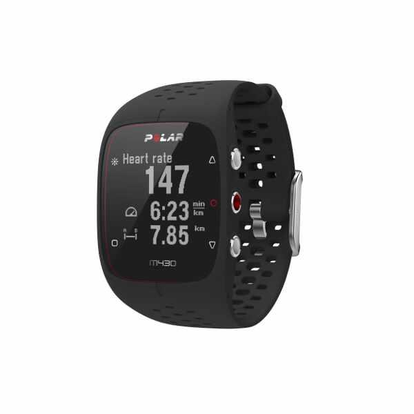 【1500円以上購入で300円クーポン(要獲得) 4/10 9:59まで】 【送料無料】 M430 国内正規品 心拍計内蔵GPSランニングウォッチ [カラー:ブラック] [バンドサイズ:M/L] #90066336 【ポラール: スポーツ・アウトドア ジョギング・マラソン GPS】【POLAR】