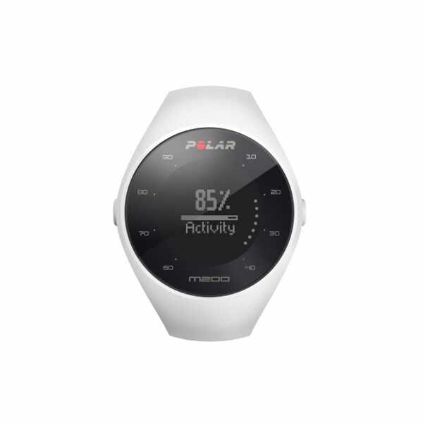 【1500円以上購入で300円クーポン(要獲得) 4/10 9:59まで】 【送料無料】 M200 国内正規品 心拍計内蔵GPSランニングウォッチ [カラー:ホワイト] [バンドサイズ:M/L] #90067740 【ポラール: スポーツ・アウトドア ジョギング・マラソン GPS】【POLAR】